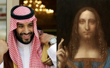 Saudi Prince Salman is purchasing the Vinni artwork for 450 million dollars