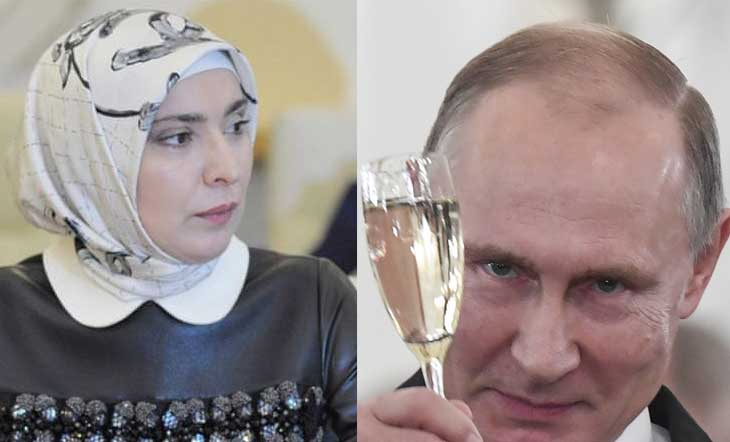 Muslim women want to fight Putin