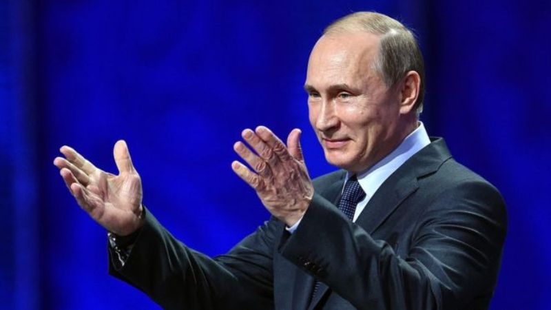 Russia's Vladimir Putin wins by big margin