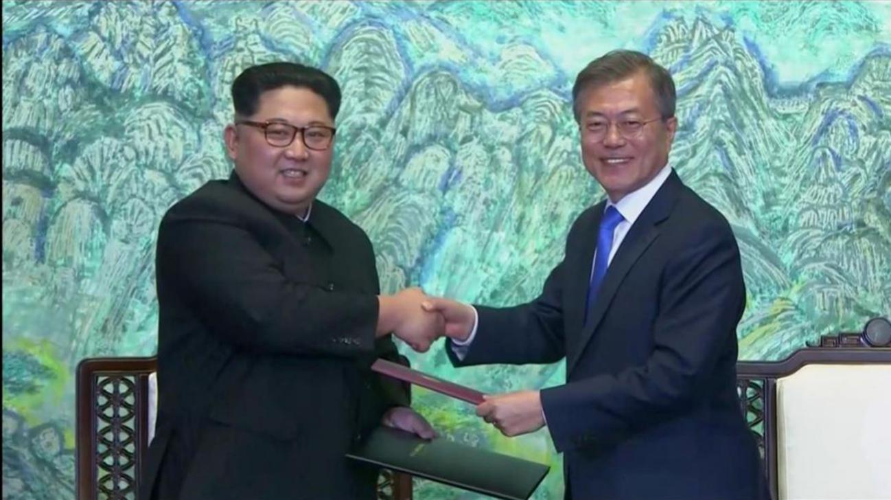 Korean leaders aim for end of war, 'complete denuclearisation'