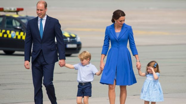 Royal baby boy: Duchess Kate and Prince William welcome No. 3