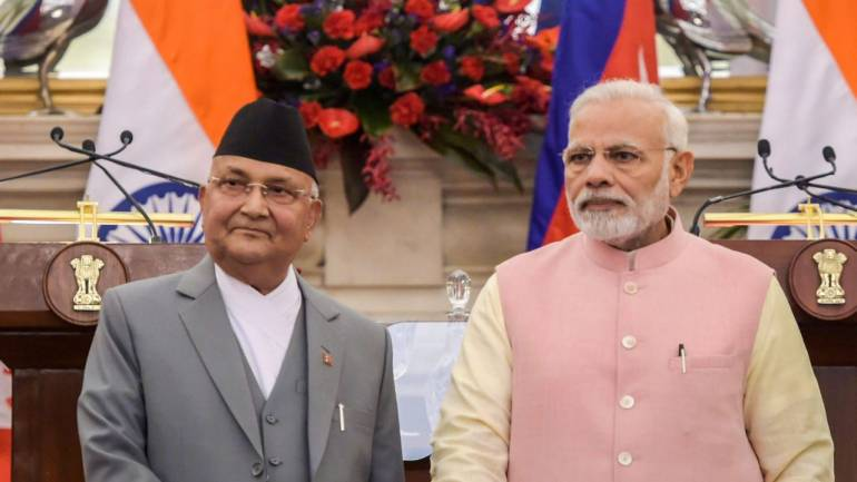 India's Modi visits Nepal to restore neighbourly ties