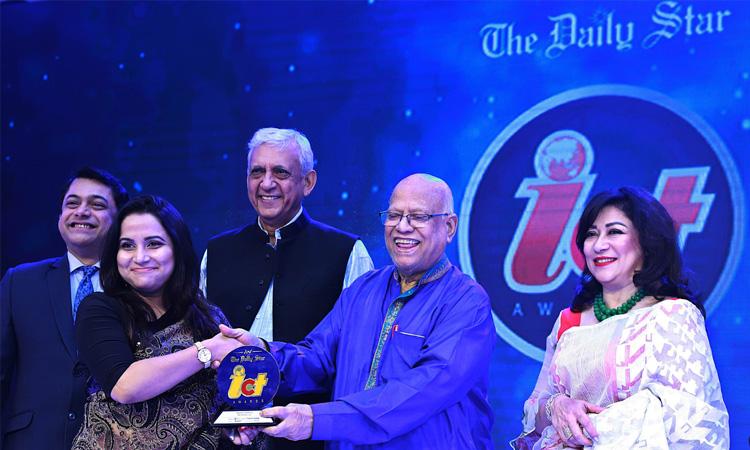 ডেইলি স্টার আইসিটি অ্যাওয়ার্ড জিতেছে বাগডুম ডটকম