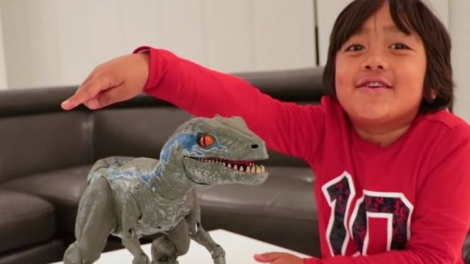 8-year old Ryan named highest YouTube earner