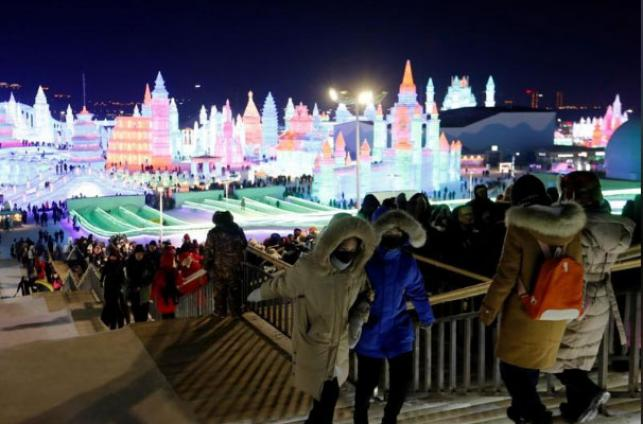 China winter festival kicked off