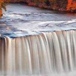 Upper Tahquamenon Falls in Michigan, USA
